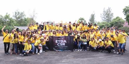ETDA ร่วมใจปลูกป่าในเมือง เฉลิมพระเกียรติ เนื่องในโอกาสมหามงคลพระราชพิธีบรมราชาภิเษก